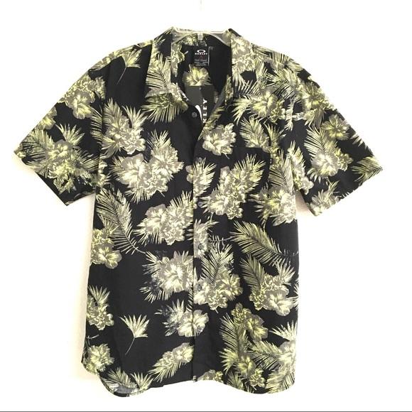 Oakley Other - NWT Oakley Hawaiian lime print shirt XL